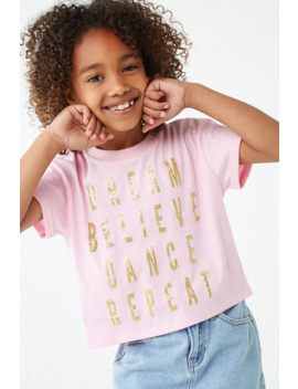 Girls Dream Graphic Tee (Kids) by Forever 21