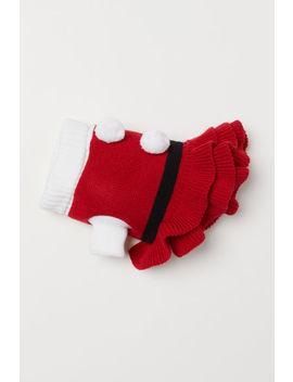 Knit Dog Dress by H&M