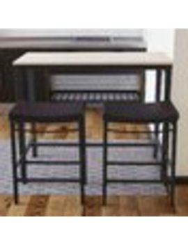 Trent Austin Design Bezons 3 Piece Pub Table Set by Wayfair