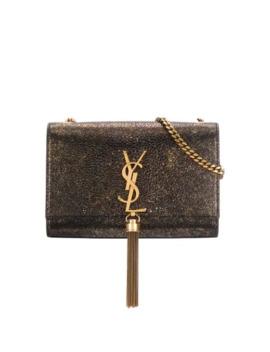 Metallic Kate Shoulder Bag by Saint Laurent