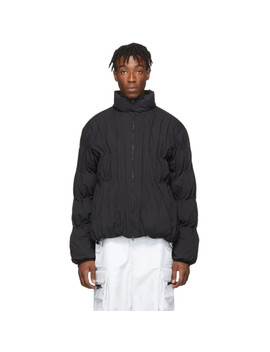 Black Down 2.0 Right Jacket by Post Archive Faction