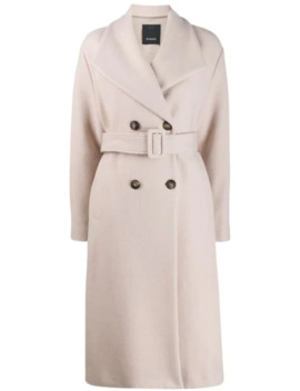 Button Front Coat by Pinko