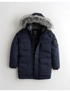 Down Utility Parka by Hollister
