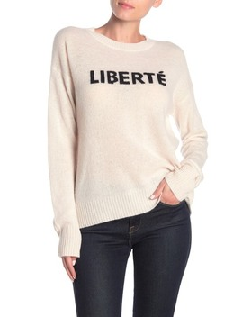 Liberte Freedom Cashmere Sweater by 360 Cashmere