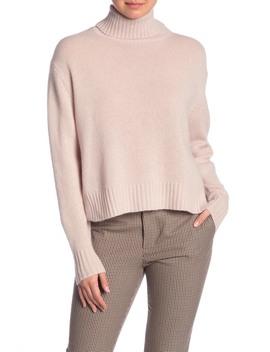 Kirin Turtleneck Cashmere Pullover by 360 Cashmere
