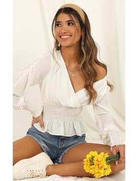 She's So Vanilla Top In White by Showpo Fashion