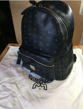 Mcm Backpack Black by Ebay Seller