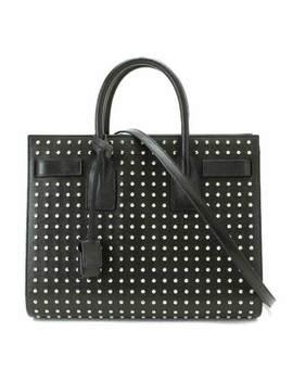 Saint Laurent Paris Sac De Jour 2way Hand Shoulder Bag Studs Leather 90060794 by Saint Laurent Paris