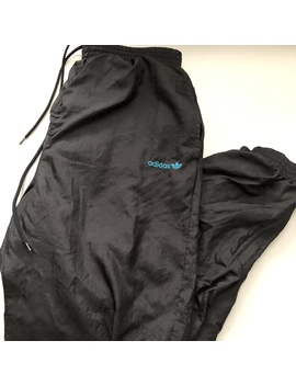 Vintage 90s Adidas Originals Windbreaker Track Pants by Depop