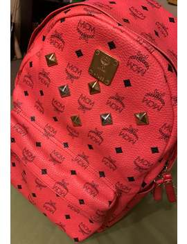 Mcm Backpack Red by Mcm