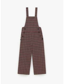 Houndstooth Overalls by Zara