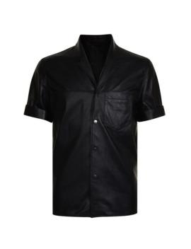 Leather Shirt by Neil Barrett