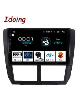 "Idoing 9""4 G+64 G 2.5 D Octa Core Car Android 8.1 Radio Multimedia Player For Subaru Forester 2008 2012 Dsp Gps Navigation No 2 Din by Ali Express.Com"