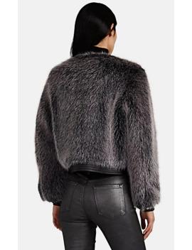 Ashbey Faux Fur Jacket by J Brand