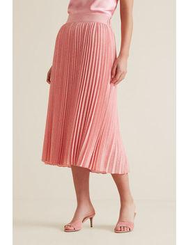 Midi Length Pleat Skirt by Seed Heritage