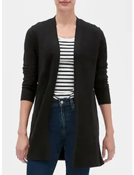 Longline Open Front Cardigan Sweater by Gap