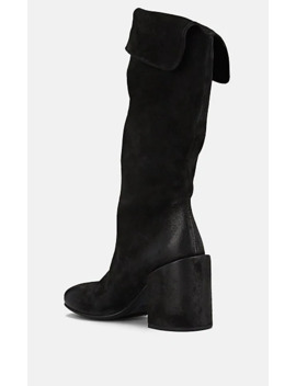 Polished Suede Knee Boots by Marsèll