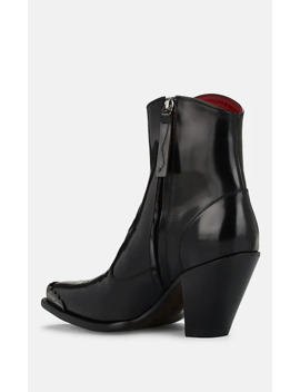 Nora Patent Leather Ankle Boots by Golden Goose