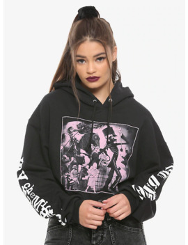 My Chemical Romance Black Parade Girls Crop Hoodie by Hot Topic
