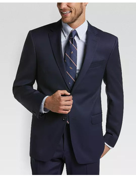 Tommy Hilfiger Navy Slim Fit Suit by Tommy Hilfiger