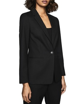 Hartley Textured Jacket by Reiss