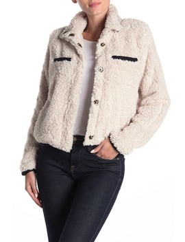 Soho Faux Shearling Jacket by Thread And Supply