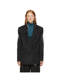 black-arm-tie-blazer by nina-ricci