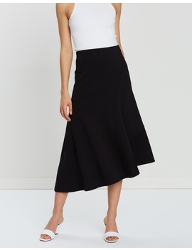 Veronica Ponte Midi Skirt by Staple The Label