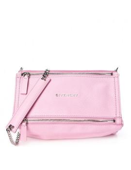 Givenchy Sugar Goatskin Mini Chain Pandora Bright Pink by Givenchy