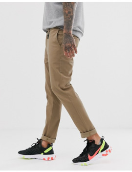 Bershka Skinny Fit Chinos In Stone by Bershka's