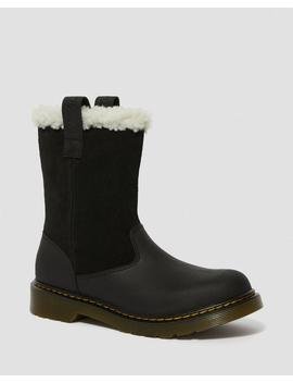 Youth Fur Lined Juney by Dr. Martens