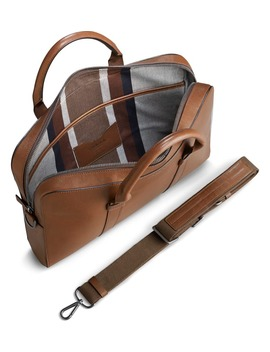 Guardian Leather Briefcase by Shinola