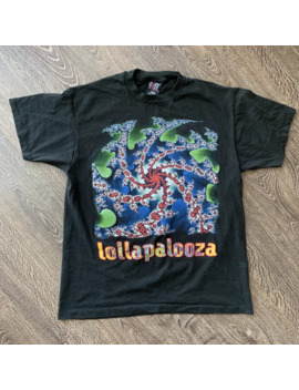 Vintage 1993 Lollapalooza Festival Tour T Shirt Giant Tag by Vintage  ×  Tour Tee  ×  Giant  ×