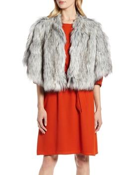 Faux Fur Capelet by Halogen®