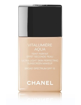 VitalumiÈre Aqua Ultra Light Skin Perfecting Sunscreen Makeup Broad Spectrum Spf 15 by Chanel
