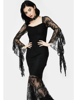 Witching Hour Maxi Dress by Killstar