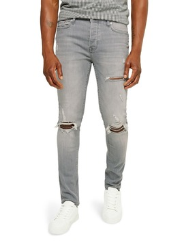 Skinny Fit Blowout Jeans by Topman