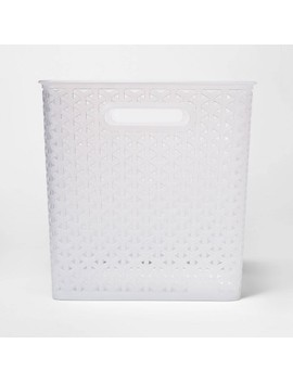 "Y Weave Bin Translucent Clear 11""   Room Essentials™ by Room Essentials"