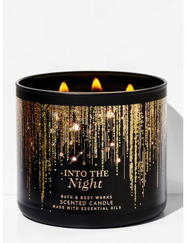 Into The Night   3 Wick Candle    by Bath & Body Works