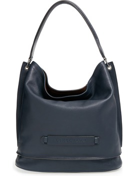 '3 D' Leather Hobo by Longchamp
