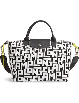 Medium Le Pliage Logo Nylon Tote by Longchamp
