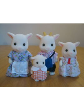 Sylvanian Families   Epoch Uk Brightfield Goat Family Of Four by Ebay Seller