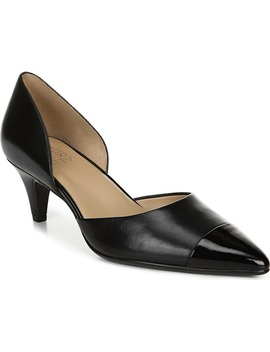 Barb Leather Pump by Naturalizer