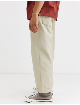 Noak Wide Leg Stone Pants In Stone by Noak