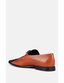Buckle Strap Leather Loafers by Dries Van Noten