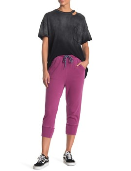 Counterpunch Cropped Jogger Pants by Free People Movement