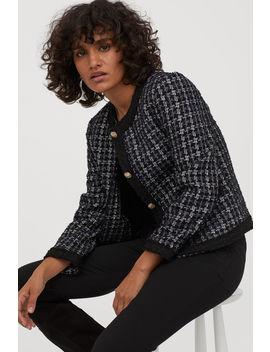 Bouclé Jacket by H&M