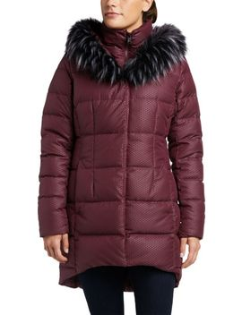 The North Face Women's Fur Hooded Down Parkina by The North Face
