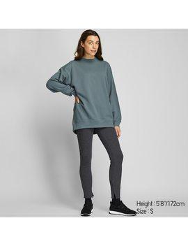 Women Mock Neck Sweatshirt (9) by Uniqlo