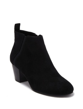 Parrie Block Heel Bootie by 14th & Union